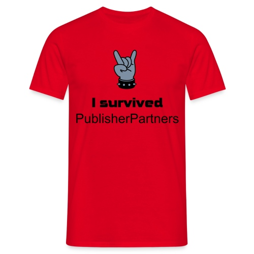 I survived PublisherPartners - Mannen T-shirt