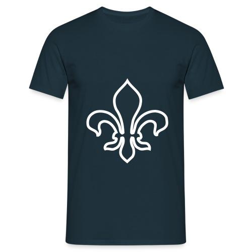 navyliliegross - Männer T-Shirt