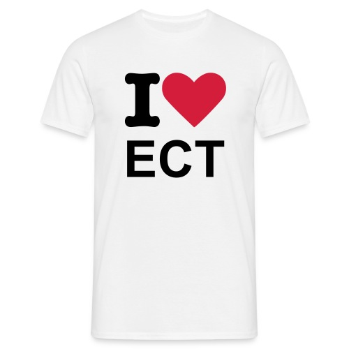 I LOVE ECT - T-shirt Homme