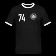 T-Shirts ~ Männer Kontrast-T-Shirt ~ FALSCHER 74r