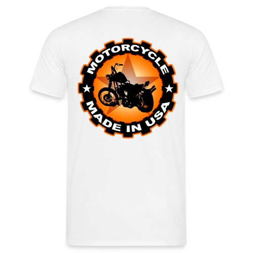 Motorcycle USA - T-shirt Homme