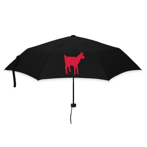 Präbbeli mat der rouder Geess - Regenschirm (klein)