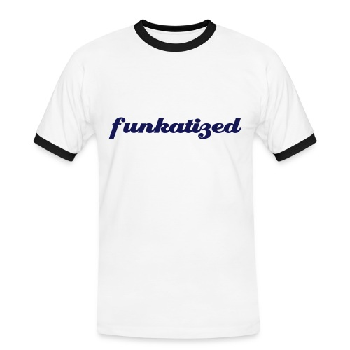 Funkatized - Slim - white - Men's Ringer Shirt