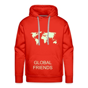 GLOBAL FRIENDS  MEN'S  HOODIE  RANGE - Men's Premium Hoodie