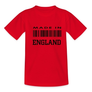 Children's Made in England - Teenage T-shirt