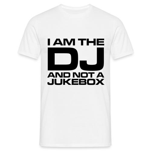 I am the dj - Mannen T-shirt