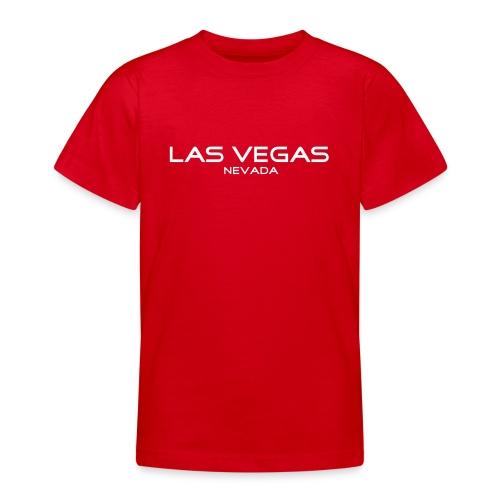 Kinder-T-Shirt LAS VEGAS, NEVADA rot - Teenager T-Shirt