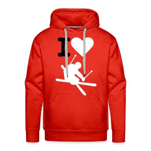 Fedeste skiing Hooded Sweat - Herre Premium hættetrøje