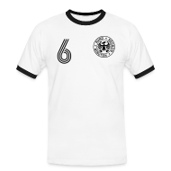T-Shirts ~ Männer Kontrast-T-Shirt ~ DOPPEL 6 (Home)