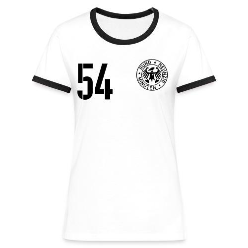 FALSCHE 54 - Frauen Kontrast-T-Shirt