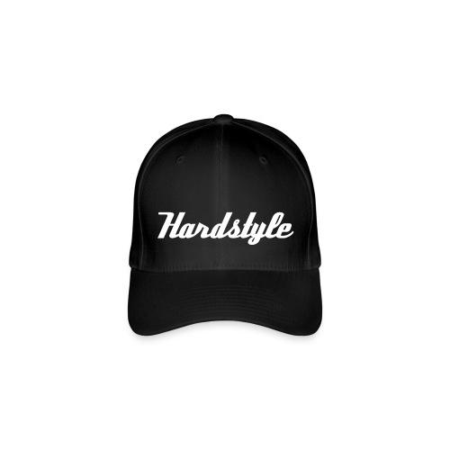 Hardstyle, wit flex - Flexfit baseballcap