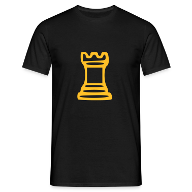 Black Castle - Chess T-Shirts