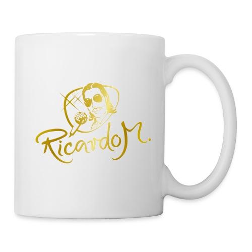 Die RICARDO M.-Kaffeetasse in der GOLD-Edition - Tasse
