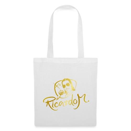Die RICARDO M.-Einkaufstasche in der GOLD-Edition - Stoffbeutel