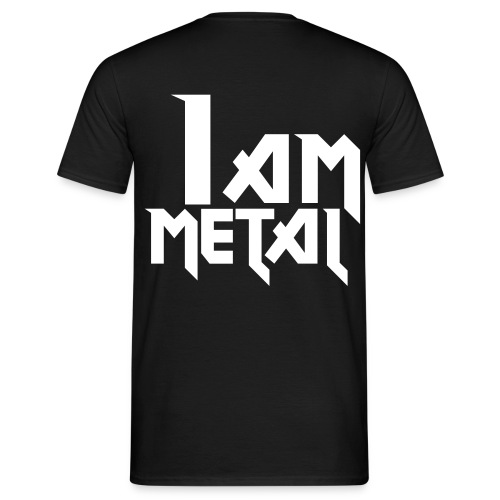 I AM METAL! - Men's T-Shirt