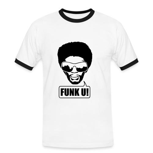 Funk U! - Männer Kontrast-T-Shirt