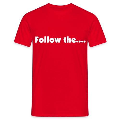 Follow Mens T - Men's T-Shirt