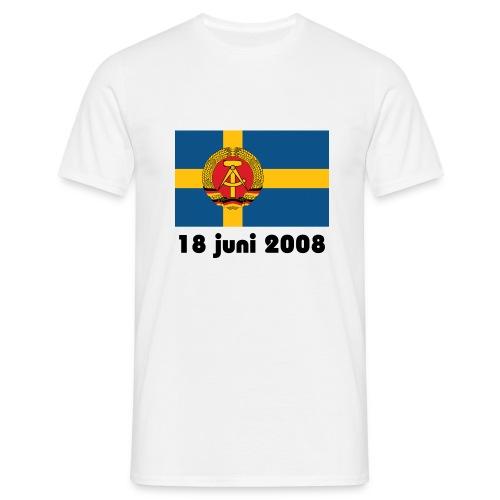 Sverige och FRA - T-shirt herr