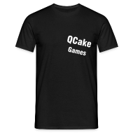 T-Shirts ~ Men's T-Shirt ~ QCake_black