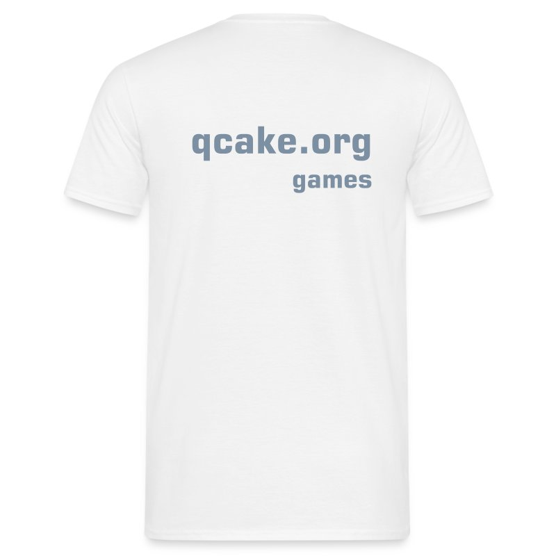 qcake_white - Men's T-Shirt