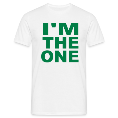 White I'm the one T-Shirts