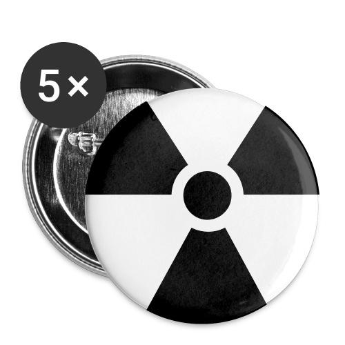 buttons 25 mm - Buttons klein 25 mm (5er Pack)