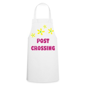 Postcrossing Cooking apron White - Cooking Apron