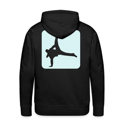 break - Sweat-shirt à capuche Premium pour hommes