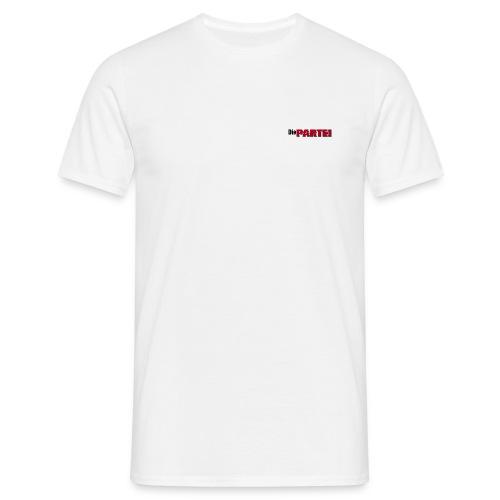 T-Shirt mit kleinem PARTEI Logo - Männer T-Shirt