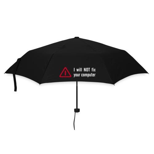 No Fix Regenschirm - Regenschirm (klein)