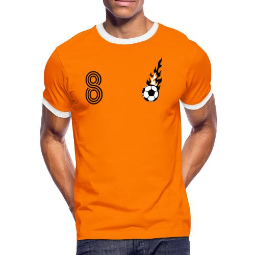 VAN WEIJTHER (8) - Männer Kontrast-T-Shirt