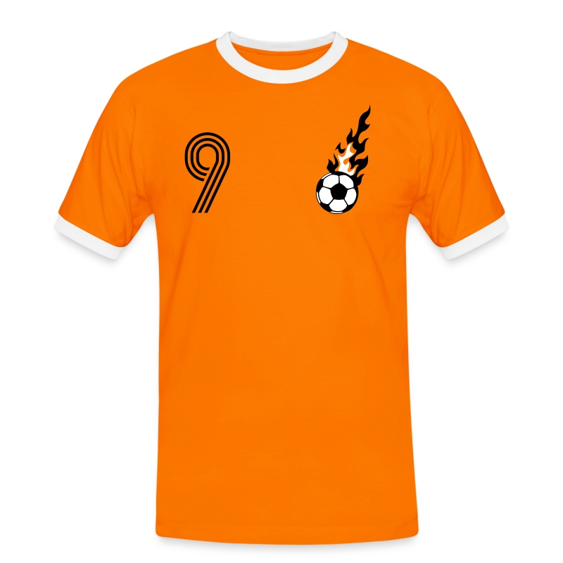 DE KNIPSER (9) - Männer Kontrast-T-Shirt