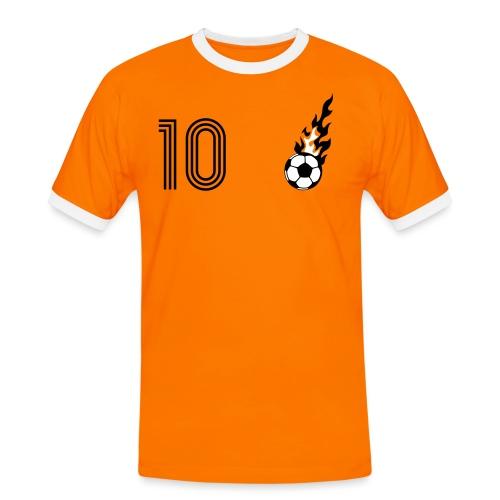 MAAS SCHNEIDER 10 (HOME) - Männer Kontrast-T-Shirt