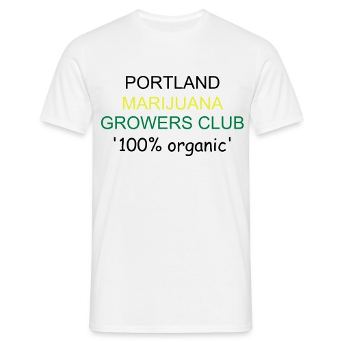 portland marijuana growers club - Men's T-Shirt