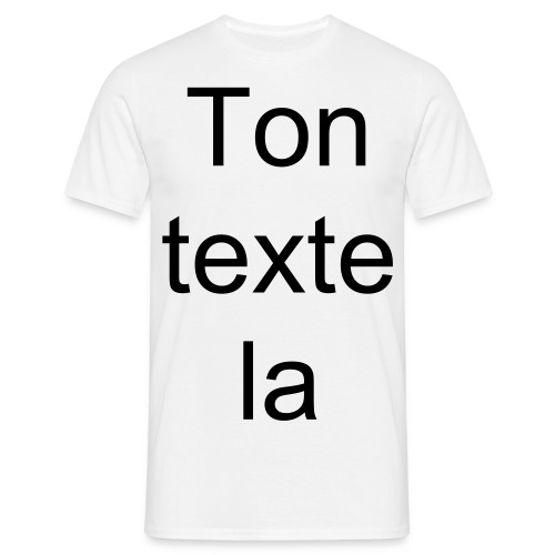 T-Shirt Perso - T-shirt Homme