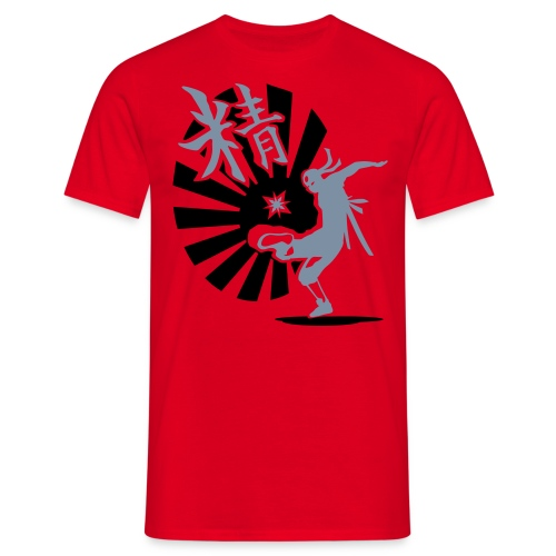 Red Japan-Core - Men's T-Shirt