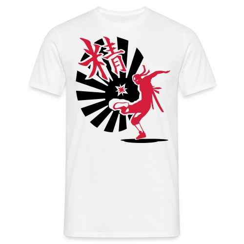 White Japan-Core - Men's T-Shirt