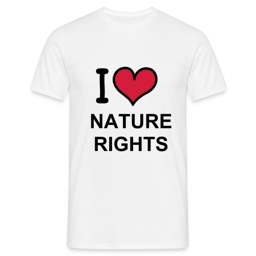 I love NR - T-shirt Homme