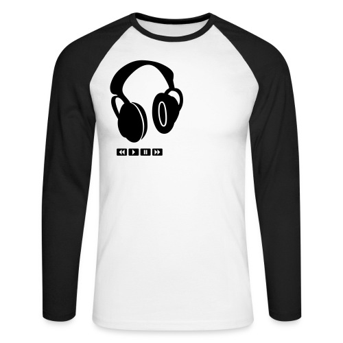 Long Sleeve Logo Tee - Men's Long Sleeve Baseball T-Shirt