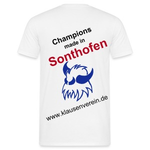 Champions made in Sonthofen - Männer T-Shirt