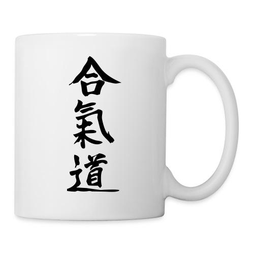 Idéogramme Aikido - Mug blanc