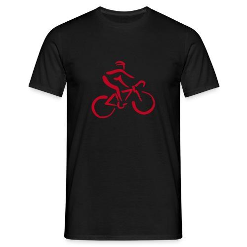 Radfahrer standard fit - Männer T-Shirt