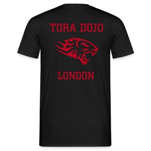 RED N BLACK T (TIGER BACK) - Men's T-Shirt