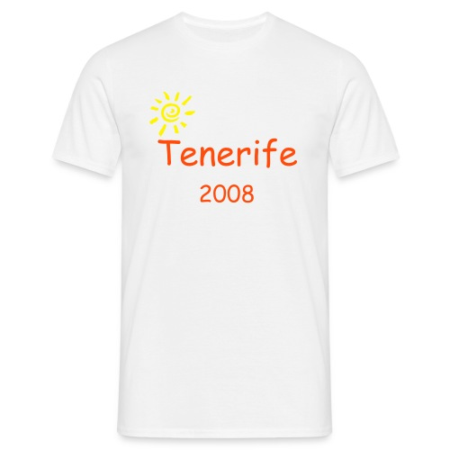 T-shirt Tenerife 2008 Model 1 - Mannen T-shirt