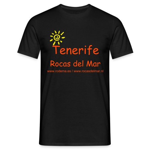 T-shirt Rocas del Mar. Model 1 - Mannen T-shirt