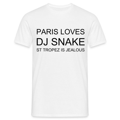 PARIS LOVES DJ SNAKE ST TROPEZ IS JEALOUS - T-shirt Homme