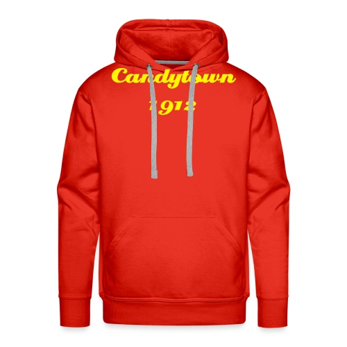 Red Candytown 1912 hoody - Men's Premium Hoodie
