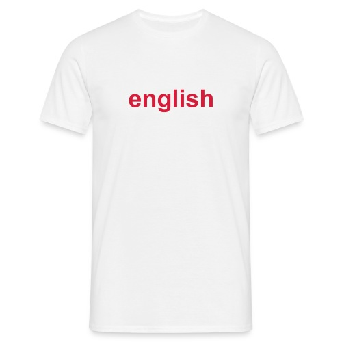 English Geezer - Men's T-Shirt