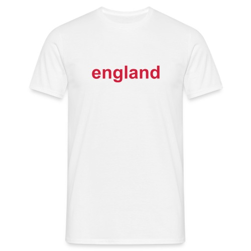 England Expects White - Men's T-Shirt