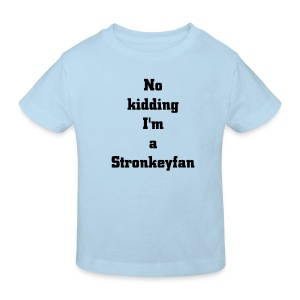 Stronkological Kidsline - Kids' Organic T-shirt
